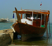 Dhow on the Corniche