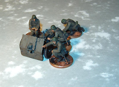 Pegasus models 1/72 German 75mm IG18 Infantry gun