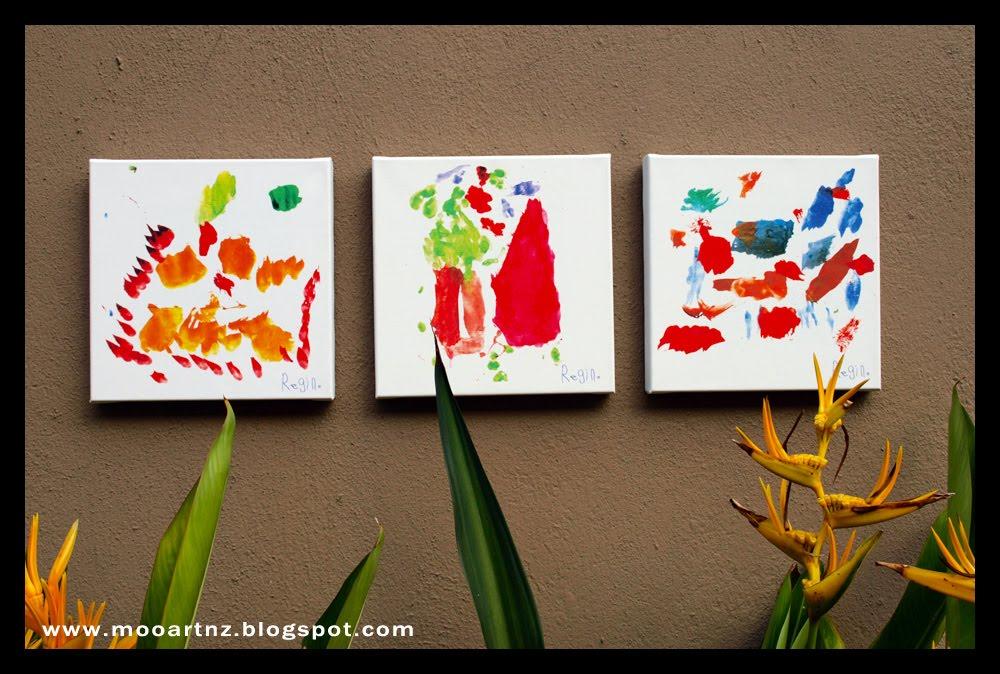 Moo Art New Zealand: Print Your Child\'s Art on Canvas