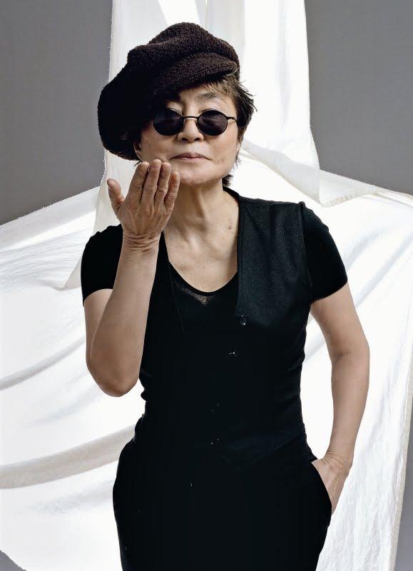 Yoko Ono - Wallpaper