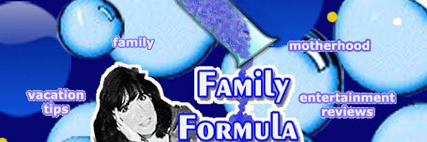 Susan Fobes' Family Formula