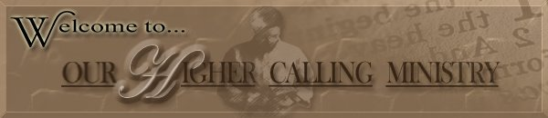 Our Higher Calling Ministry