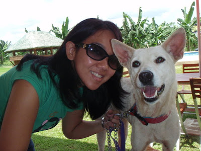 Jasmine and adopter Marla Nicandro