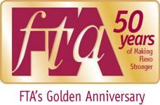 FTA 50 year logo
