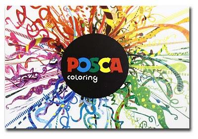 [ POSCA ] STYLOS pour maquettes Posca-logo
