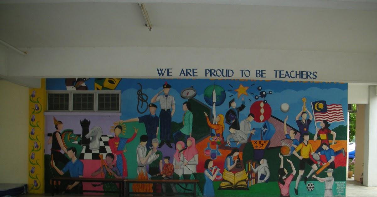 Azzaphysicssmktr2 mural dinding smktr2 for Mural sekolah