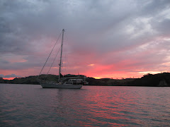 Orca III - Sunset in Coromandel Harbour