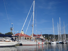 at the dock in Town Basin Whangarei NZ