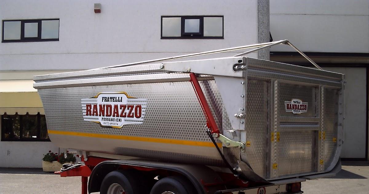 Rimorchi randazzo rimorchio pronta consegna t 45 ppl con for Rimorchi randazzo