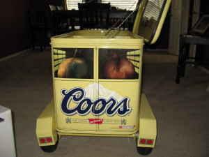 5 Acre Dream Minus The 5 Acres Coors Horse Trailer Cooler