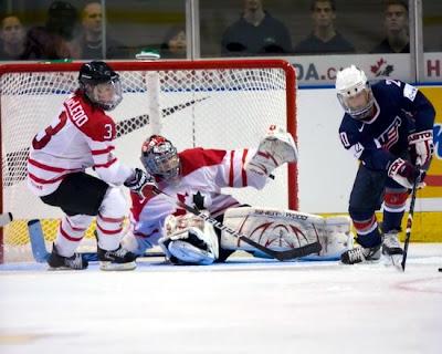 Olympic Hockey USA Vs Canada