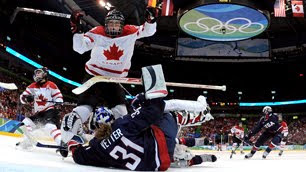 USA vs Canada Women's Hockey