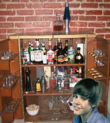 Justin Bieber Drinking Problem