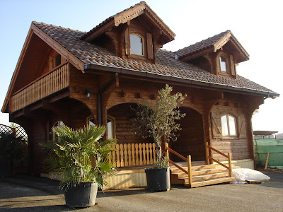 Caselegno srl casa due piani for Piani di casa bungalow 2 piani