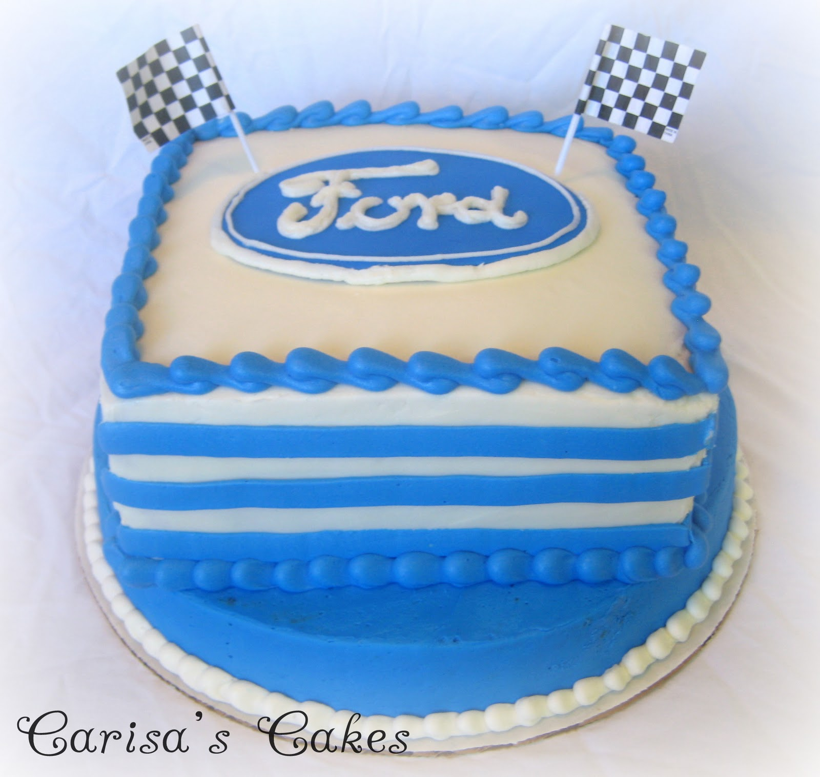 ford birthday cake
