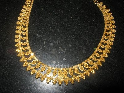 22 Carat Traditional Gold Jewellery Designs Jewellery