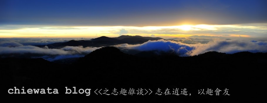 Chiewata Blog之志趣雜談