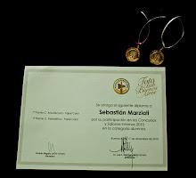 Diploma y medallas