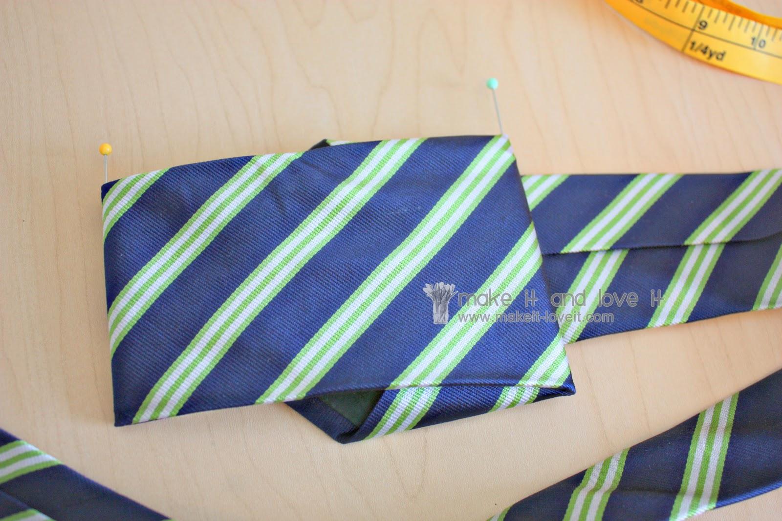 Repurposing Repurposing Neck Tie Into Bow Tie Make It And Love It