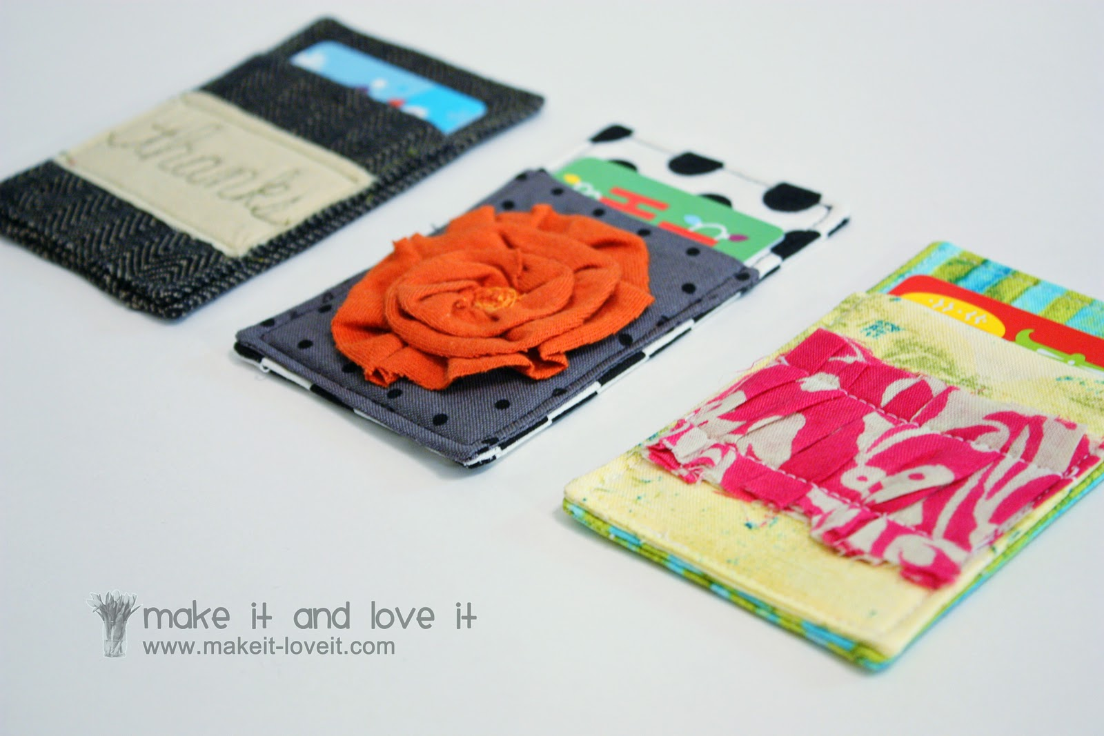 Gift card cozy make it and love it solutioingenieria Gallery