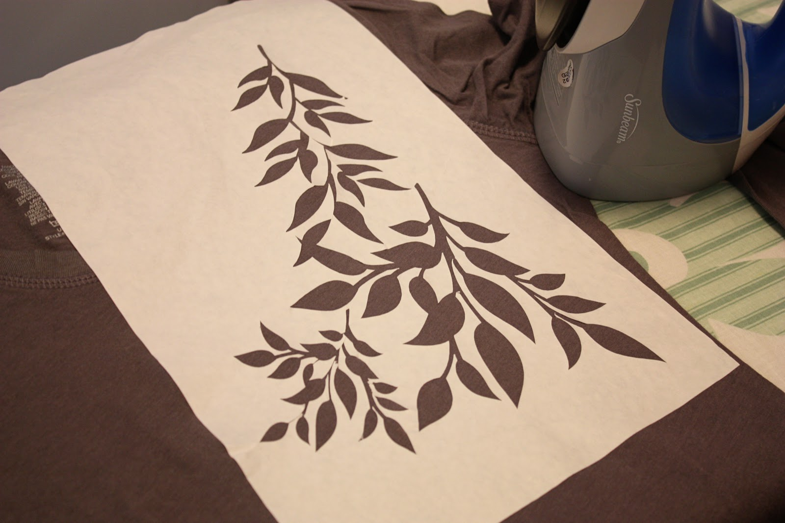 More with the Silhouette: Freezer Paper Stenciling and Heat Transfer ...