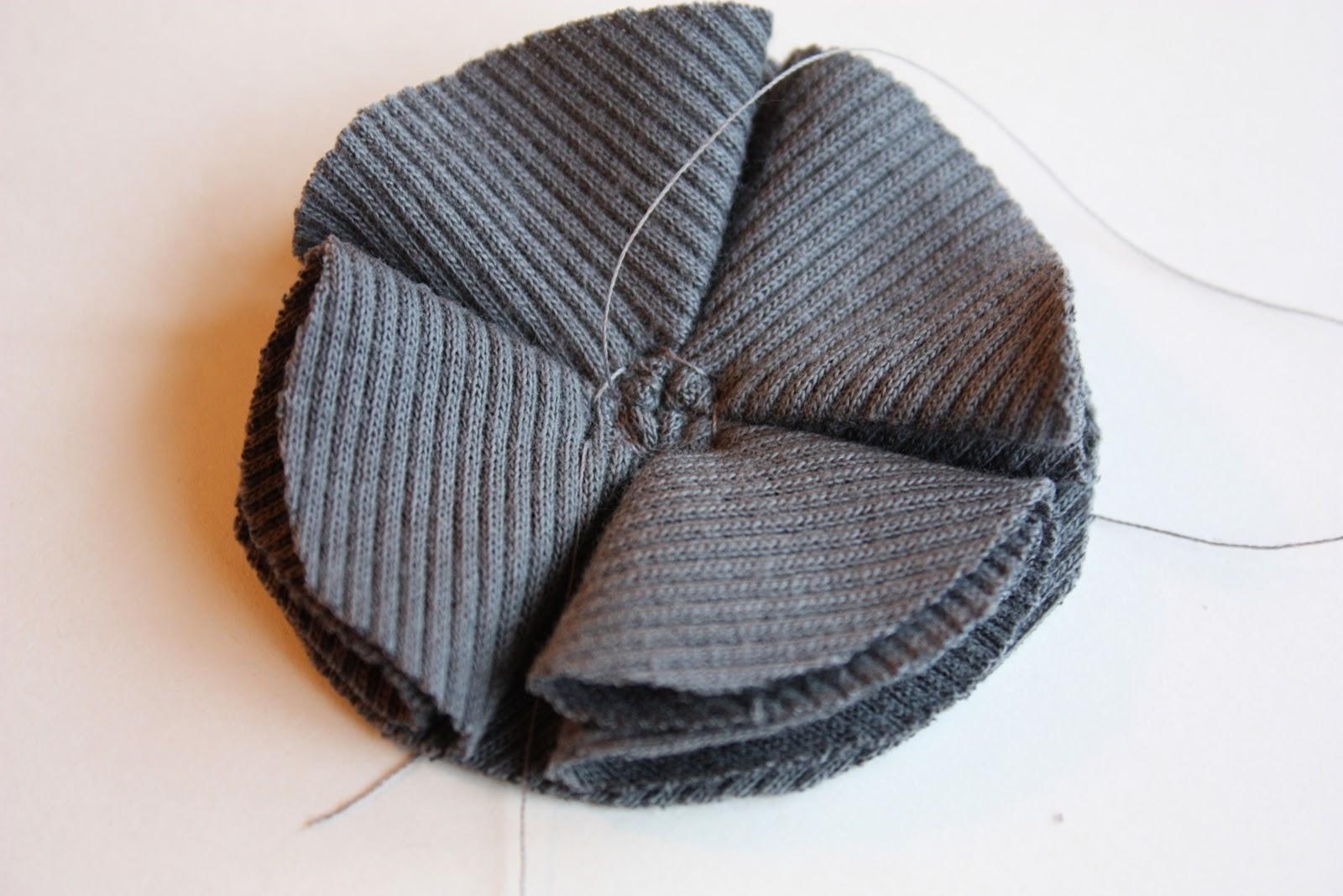 Шапки из старого свитера своими руками