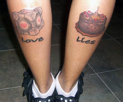 http://4.bp.blogspot.com/_Q5wa7ttQiZk/S2RUfblUvLI/AAAAAAAAawg/geMwxx3fVmI/s400/the-cake-is-a-lie-tattoo.jpg
