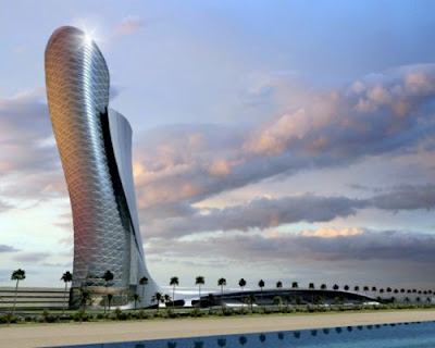 Hyatt Capital Gate Tower, Abu Dhabi