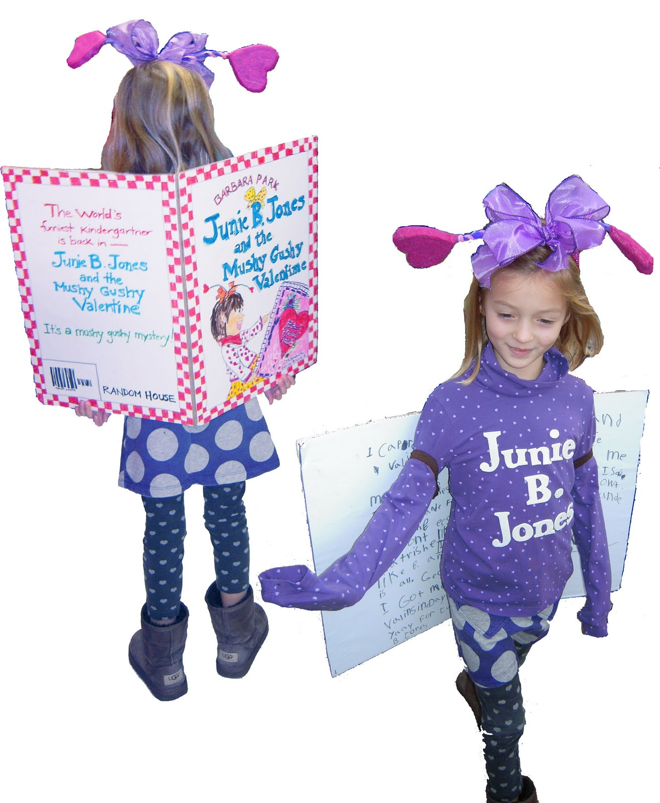 Junie B_ Jones Costume http://joelledesign.blogspot.com/2010_10_01_archive.html