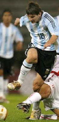 messi, delantero seleccion argentina en sudafrica 2010