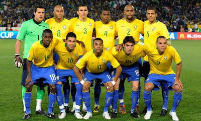brasil, candidato a ganar en sudafrica 2010