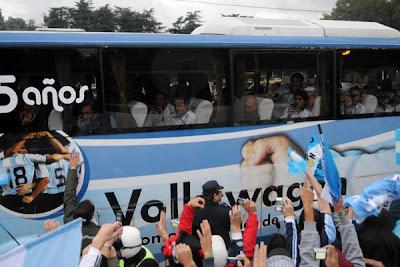 despedida seleccion argentina rumbo a sudafrica 2010