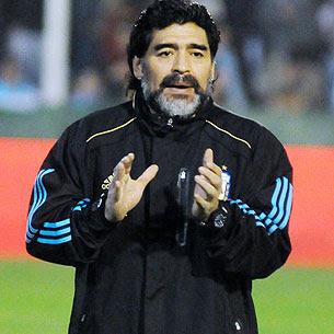 la tactica exitosa de maradona de no jugar amistosos antes de sudafrica 2010