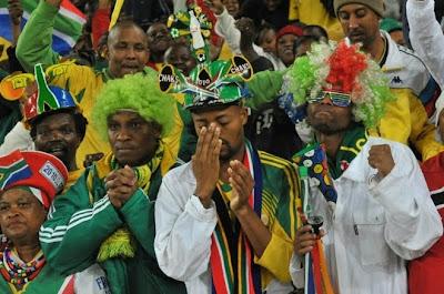 sudafrica 2010: fotos de fanaticos, hinchas y simpatizantes