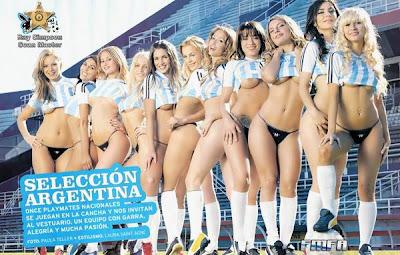 selección argentina de chicas lindas en tanga