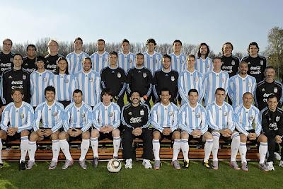 seleccion argentina lista y con optimismo para enfrentar a nigeria en sudafrica 2010