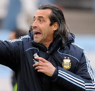 sergio batista, entrenador seleccion argentina
