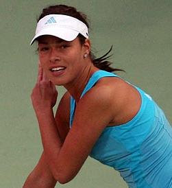 ana ivanovic, hermosa mujer tenista
