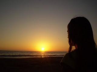 el encanto del atardecer en playas de argentina