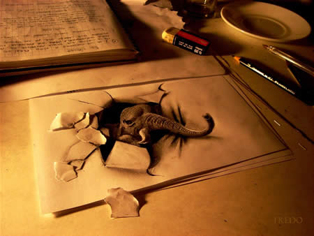 Paper Drawing 3d Amazing
