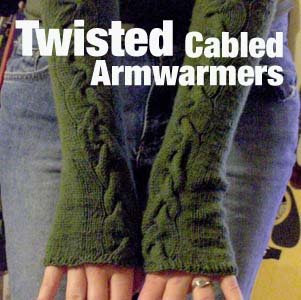 Knit Baby Patterns: how to knit arm warmers