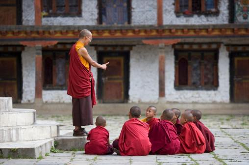 La Prueba del Maestro Budista