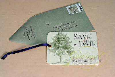 Vintage Wedding Save  Dates on Save The Dates   Gourmet Invitations