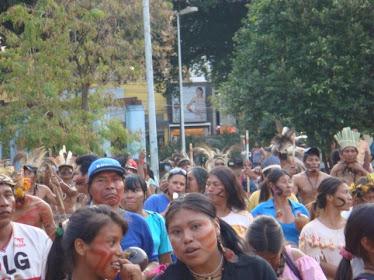 Acampamento Terra Livre - em Campo Grande, MS dia 19 de agosto de 2010