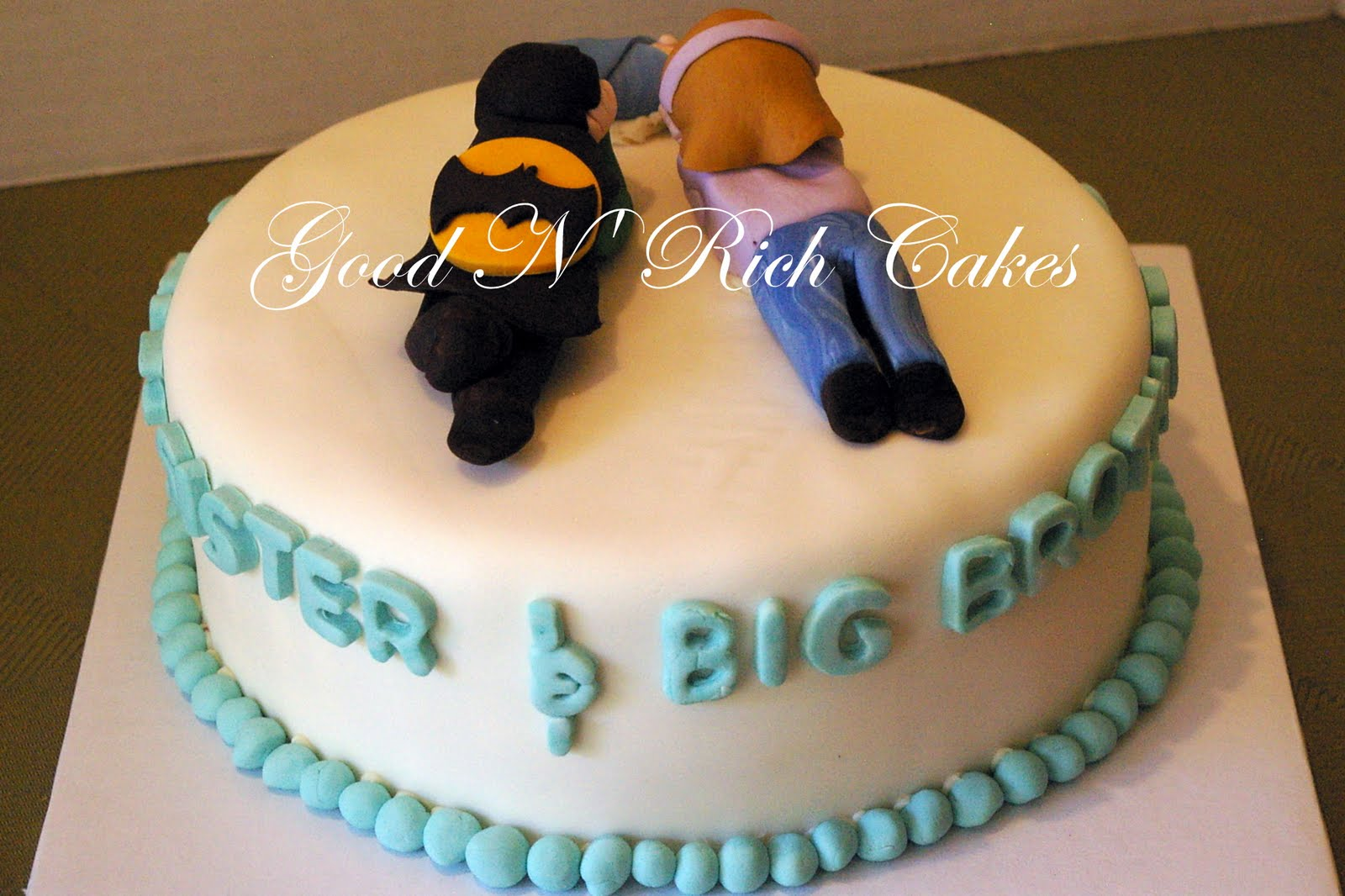 Birthday Cake Images For Big Brother : Good N  Rich Cakes Blog: Congratulations Big Sister and ...