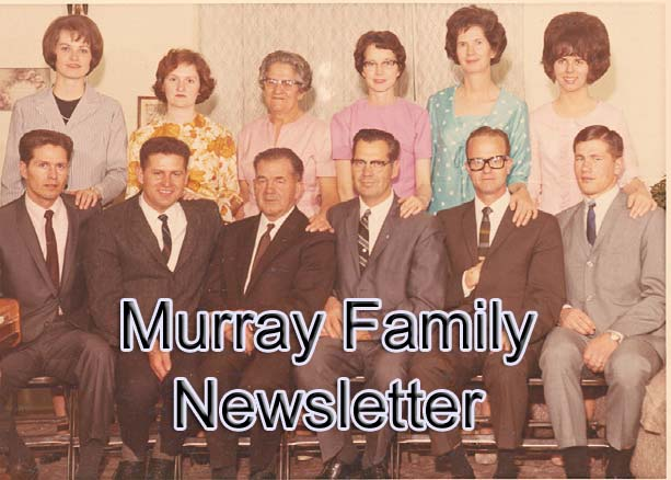 Murray Family Newsletter Blog
