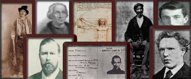 Personajes enigmáticos de la Historia