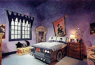 Harry Potter Bedroom Wall Mural Purple