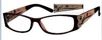 Design Framed Prescription Eyeglasses Pink