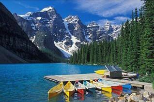 Moraine Lake in my dreams